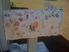 shabby chic birdhouses | BIRDHOUSES & MAILBOXES & OTHER SHABBY STUFF / shabby chic mosaic ...