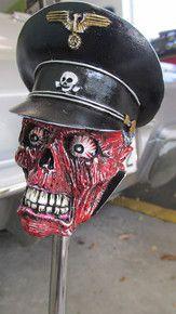 """""""Crash"""" SS Trooper Numb Skull Shift Knob"""
