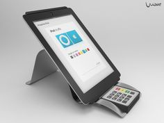 Wave - mPos and tablet stand on Behance
