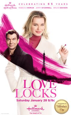 Real Life Couple Rebecca Romijn and Jerry O'Connell in a movie about a woman's journey of rediscovery and romance in Paris.