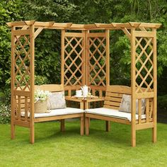 lattice bench/arbor