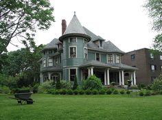 Toledo, Ohio's Old West End has beautiful Victorian mansions.