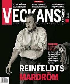 Magazine Cover - Veckans Affärer nr 18, den 3 maj 2012 (Sweden) - Stefan Löfven