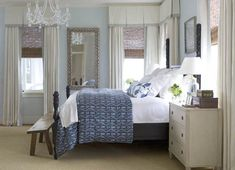 Cottage decor: Bedroom | Melissa Ervin Interior Design