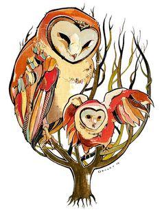 Mama owl...