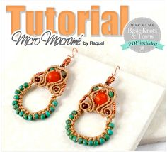 The earrings measure about 32x 44mm (excluding the beaded loops and the ear…