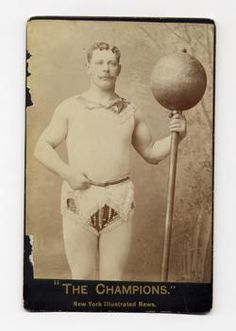 Only the Champion Strongman gets to wear the frilly knickers !