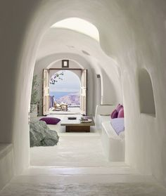 Perivolas Hotel by Costis PsychasPerivolas is the ultimate in laidback luxury. Poised on the cliff high above the Aegean, this intimate escape is designed as a place where you can let the rest of the world slip away. It's just a short walk from Oia, the most beautiful village on Greece's most romantic and dramatic island, Santorini.