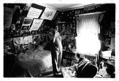 my bedroom, circa the 90s