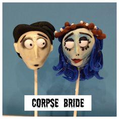 Halloween Cake Pops - Corpse Bride