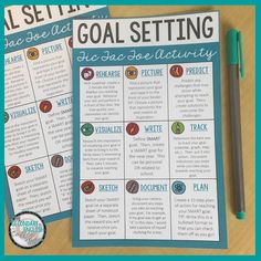 6 Ways to Help Students Set Goals - The Secondary English Coffee Shop Smart Goal Setting, Setting Goals, Interactive Writing Notebook, Writing Rubrics, Paragraph Writing, Opinion Writing, Persuasive Writing, Parents As Teachers, English Teachers