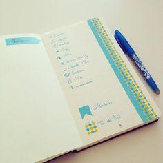 Une rentrée bien organisée !! J'ai transformé mon #carnet @lepapier_ en #BulletJournal ! Et c'est sur le #blog aujourd'hui ! #Organisation by com2filles