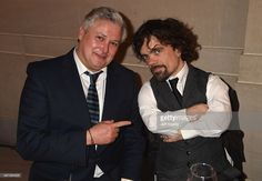 Actors Conleth Hill and Peter Dinklage attend the after party for HBO's 'Game of Thrones' Season 5 at San Francisco City Hall on March 23, 2015 in San Francisco, California.