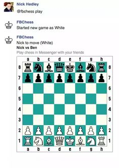 #Facebook has revealed the existence of a full chess #game inside its Messenger app .