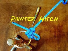 Painter Hitch - Fast Secure Knot - Quick Release Knot - Great for Lines Leads and Leashes - YouTube