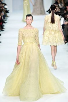 The shape of this is gorgeous.  Elie Saab Spring 2012 Couture - Collection - Gallery - Style.com