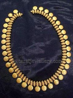 Jewellery Designs: Kasumala Patterned Ram Leela Haram