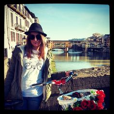 lovely place... lovely tee... #ruotalibera #ruotaliberabrand #ruotaliberatee