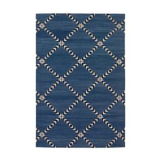 Indigo Lolita Cotton Carpet