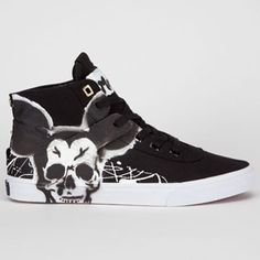 PROJECT CANVAS Mouse Hand Painted Primary Hi Mens Shoes