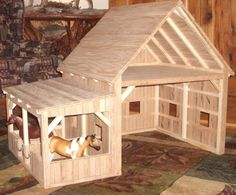 "This would make a cute ""doll house"" barn :)"