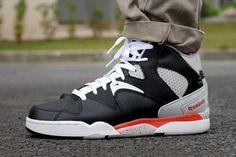 decac457a342 Reebok Classic Jam Black Orange. Orange SneakersFrescoMens ...