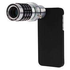 Desmontable 12X Lente Telefoto Set con nuevo caso para el iPhone 5 – RUB p. 1 423,52