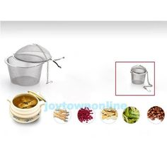 Reusable Stainless Steel Infuser Strainer Mesh Tea Filter Locking Spice Ball New