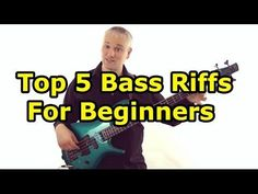 Top 5 Must Know Bass Riffs For Beginners (L#90) - YouTube