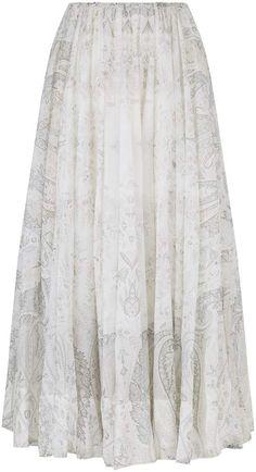 Etro Bohemian Maxi Skirt