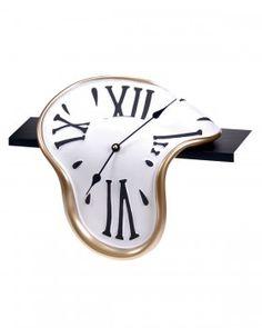 Antartidee - http://www.casatutto.com/  Classic mensola orologio che si scioglie