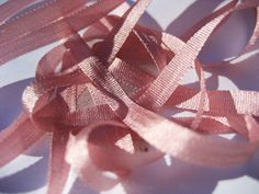 YLI Silk Ribbon, 2mm — 163 (rose)