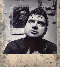 Francis Bacon by Irving Penn