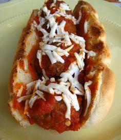 Vegan Meatball Subs #vegan #recipe #yummy #superbowl