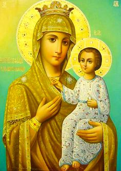 """The Icon of the Mother of God """"Deliveress"""" belonged to a monastery on Mount Athos. Prayer to this icon delivered the inhabitants of Sparta from locusts in 1841. The icon was later taken to a monastery in Russia. On its first celebration, a storm cast more than a ton of fish on the shore in front of the monastery. (Apr 4, Oct 17)"""