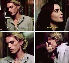 ♡ Jace and Clary The Mortal Instruments, Immortal Instruments, It Movie Cast, I Movie, Clary And Jace, Jace Wayland, Jamie Campbell Bower, Clace, The Dark Artifices