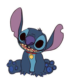 How to Draw Stitch from Lilo and Stitch -- via wikiHow.com