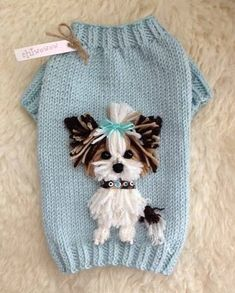 35 Ideas Knitting Patterns Dog Sweater Ideas For 2019 Yorkie Clothes, Pet Clothes, Funny Clothes, Crochet Dog Sweater, Puppy Pads, Dog Jumpers, Dog Clothes Patterns, Pet Fashion, Fashion Ideas
