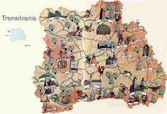 The seven walled citadels populated by the Saxons of Transylvania were known in German as the Siebenbürgen. The other Siebenbürgen citadels were: Bistrita (Bistritz), Brasov (Kronstadt), Cluj (Klausenburg), Medias (Mediasch), Sebes (Mühlbach), Sibiu (Hermannstadt).