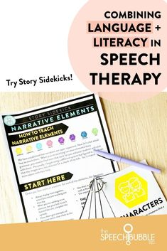 Literacy-Based Therapy is a natural and fitting approach to helping our kids grow. Combining language and literacy can become your greatest tool in speech therapy. Story Sidekicks will help you get started with incorporating literacy-based lessons into your sessions in a way that is engaging for students and aligned to the latest research. #speechpathologist #speechies #slp #speechtherapy #slpeeps #slplife #speechpathology #speechlanguagepathology #speechlanguagepathologist #schoolslp
