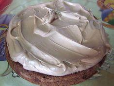 Τούρτα Cathrina φωτογραφία βήματος 3 Icing, Desserts, Food, Tailgate Desserts, Deserts, Eten, Postres, Dessert, Meals