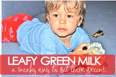 leafy green milk - now kids can DRINK their greens!-PURE MAMAS