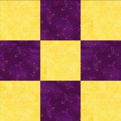 NIne-Patch Quilt Block 3