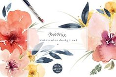 Mimie Watercolour De