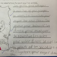 Creating imaginary animals! #iteachtoo #teacherspayteachers #teachersfollowteachers #frenchteacher #grade2frenchimmersion French Teacher, French Class, Grade 2 Science, French Immersion, Instagram Posts, Animals, Porch Swing, Animales, French Lessons