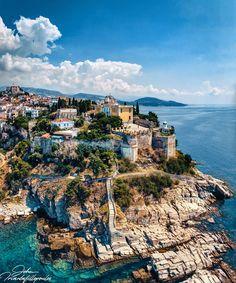 Visit #Kavala! 💙🇬🇷 Phot Beautiful World, Beautiful Places, Amazing Places, Best Cities, Travel Goals, Greece Travel, Greek Islands, Island Life, World Heritage Sites