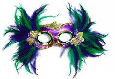 Feather Mask Purple