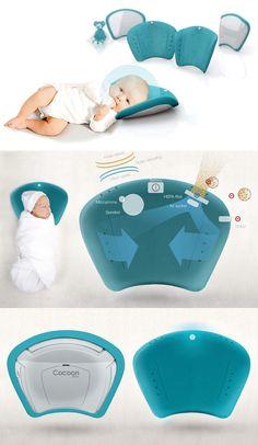 """Baby Beauty Sleep - """"Cocoon Pillow"""" - Designer: Elodie Delassus"""