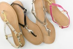 Coach sandals for the ladies...for pretty feet...
