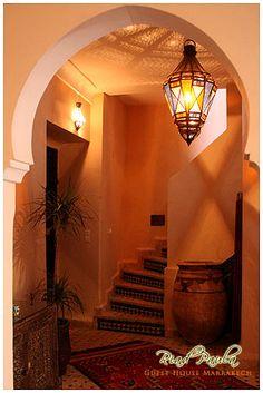 subtle zellij risers - great lantern, Berber pot